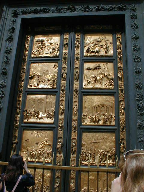 The Gates Of Paradise & Florence Doors \u0026 South Doors (detail) By Andrea Pisano Pezcame.Com